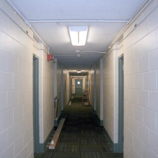 Hallway prior to upgrade